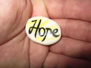 Keep holding on to hope!